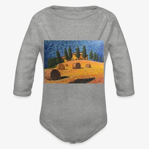 tuscany - Organic Longsleeve Baby Bodysuit
