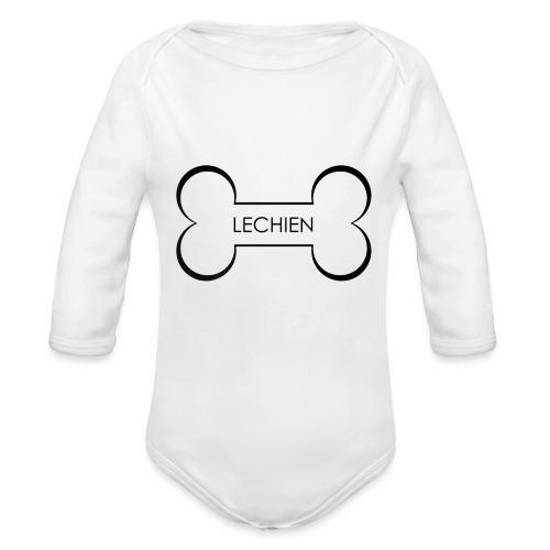 LeChien - Body ecologico per neonato a manica lunga