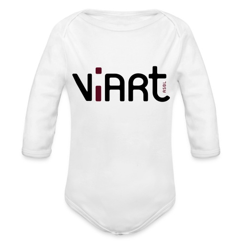viart logo vect 2coul - Baby Bio-Langarm-Body