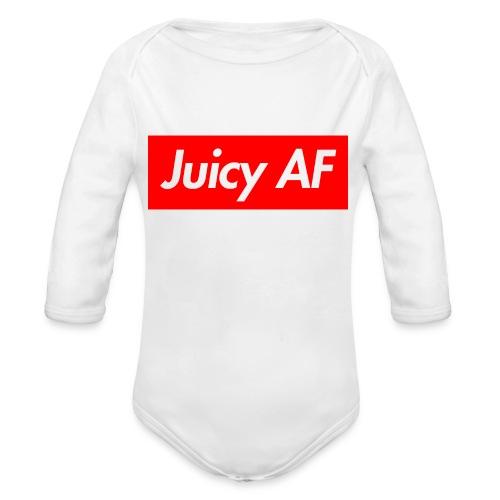Juicy AF Front - Baby Bio-Langarm-Body