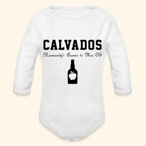 calvados - Baby Bio-Langarm-Body