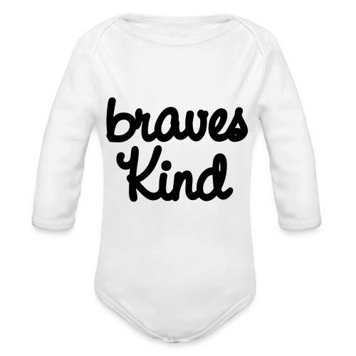 braves kind - Baby Bio-Langarm-Body