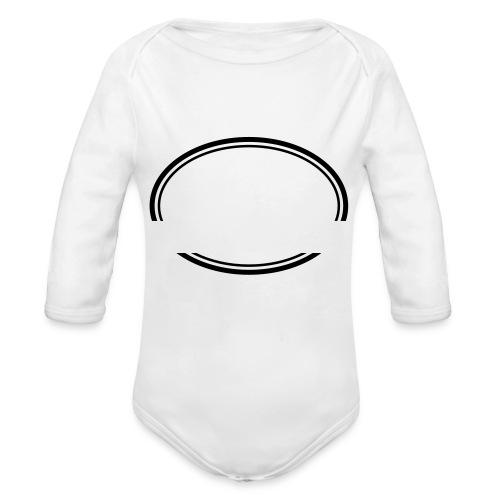 Kreis offen - Baby Bio-Langarm-Body