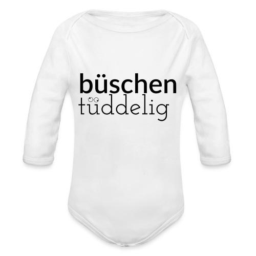 Büschen Tüddelig - das Design für Zerstreute - Baby Bio-Langarm-Body