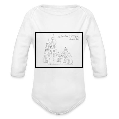 T Shirt Basilika St Lorenz Kempten Allgaeu - Baby Bio-Langarm-Body
