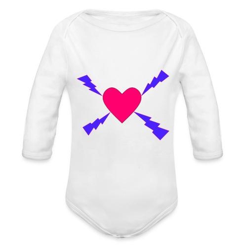 Salamasydän - Vauvan pitkähihainen luomu-body