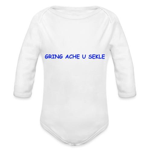 Gring ache u sekle - Baby Bio-Langarm-Body