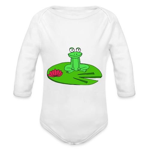 Molly la grenouille - Body Bébé bio manches longues