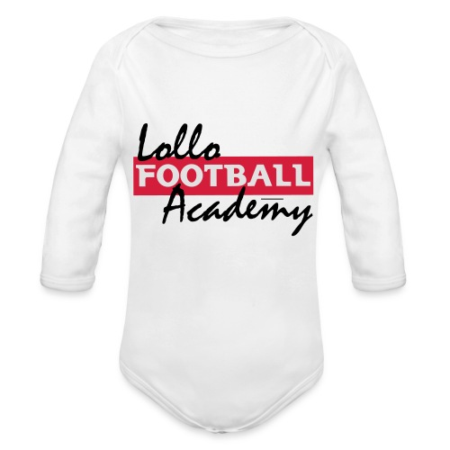Hoodie - Lollo Academy - Ekologisk långärmad babybody
