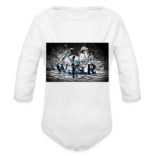 Naisten T-Paita - Vauvan pitkähihainen luomu-body