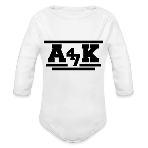 - A _K - - Organic Longsleeve Baby Bodysuit
