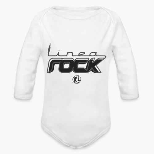 dark2 - Body ecologico per neonato a manica lunga
