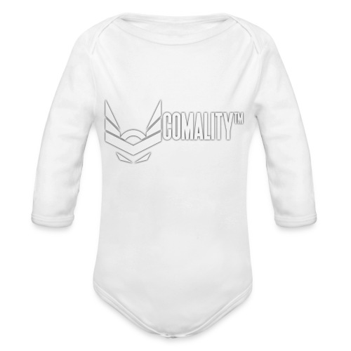 PILLOW | Comality - Baby bio-rompertje met lange mouwen