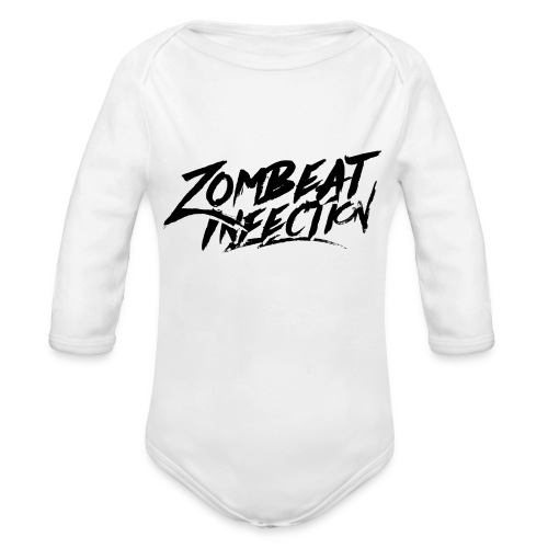 T-shirt Classic BlackLogo - Body Bébé bio manches longues