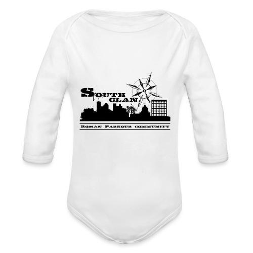 SOUTH CLAN CLASSIC - Body ecologico per neonato a manica lunga