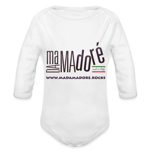T-Shirt Premium - Donna - Logo Standard + Sito - Body ecologico per neonato a manica lunga