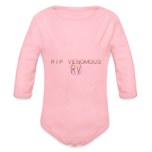 Rip Venomous White T-Shirt men - Baby bio-rompertje met lange mouwen