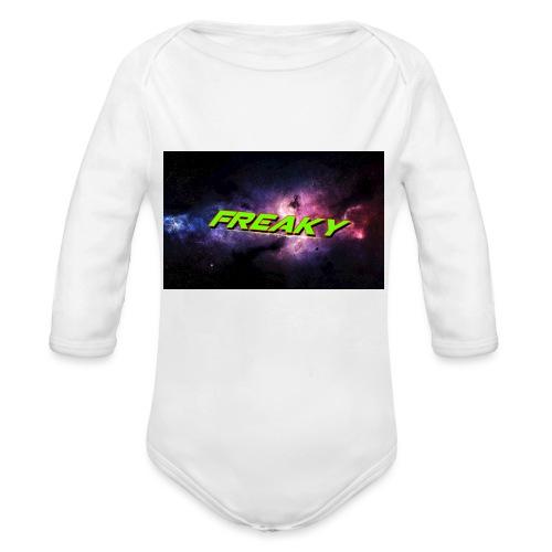 Freaky Cover_iphone - Langærmet babybody, økologisk bomuld