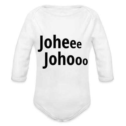 Premium T-Shirt Johee Johoo - Baby bio-rompertje met lange mouwen