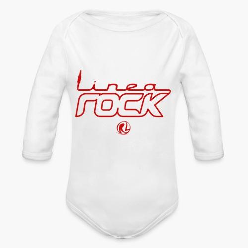 UNI - Cappello - Logo Rosso - Body ecologico per neonato a manica lunga