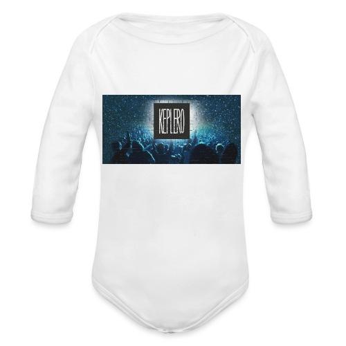T-shirt KEPLERO staff rave - Body ecologico per neonato a manica lunga