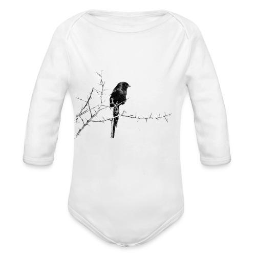 I like birds ll - Baby Bio-Langarm-Body