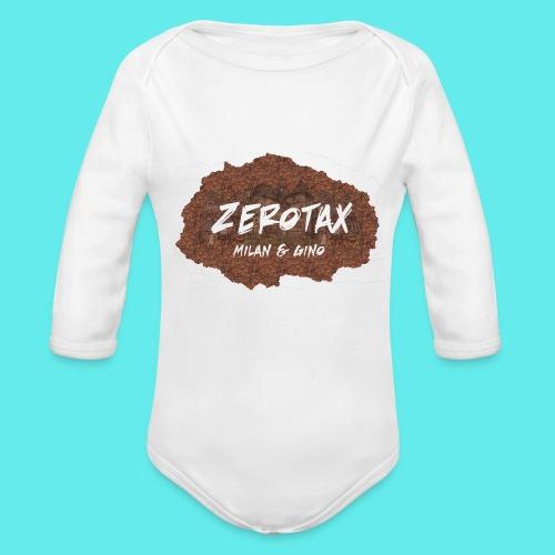 ZeroTax PetDesign - Baby bio-rompertje met lange mouwen