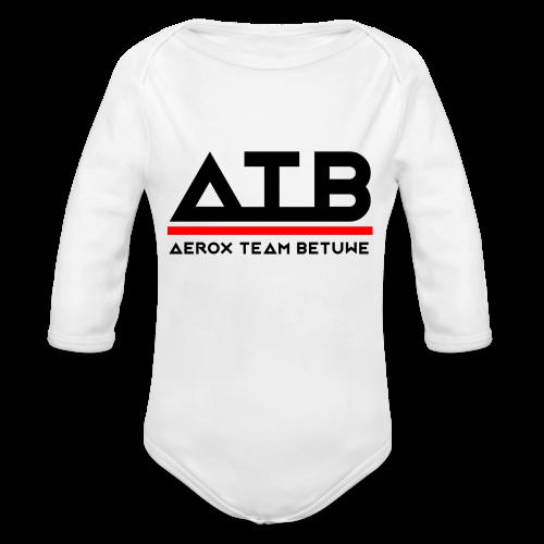 ATB Hoesjes - Baby bio-rompertje met lange mouwen