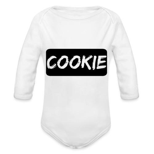 La galleta _-_ Negro - Body orgánico de manga larga para bebé