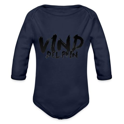 VindDelphin - Organic Longsleeve Baby Bodysuit