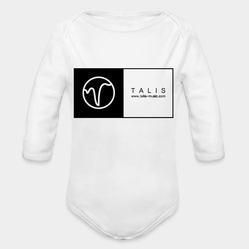 TALIS (2Quadrate) - Baby Bio-Langarm-Body