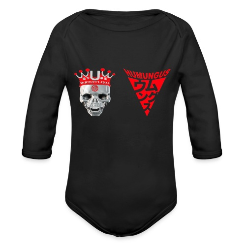 skull krone humungus3 png - Baby Bio-Langarm-Body