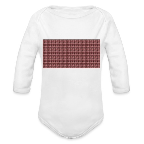 A Great Quality Stare Down - Organic Longsleeve Baby Bodysuit