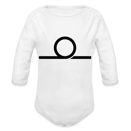 WHEEL LONG png - Organic Longsleeve Baby Bodysuit