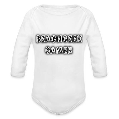 Classic BeachGeek - Organic Longsleeve Baby Bodysuit