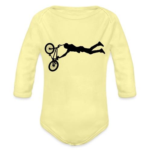 BMX Jump - Vauvan pitkähihainen luomu-body