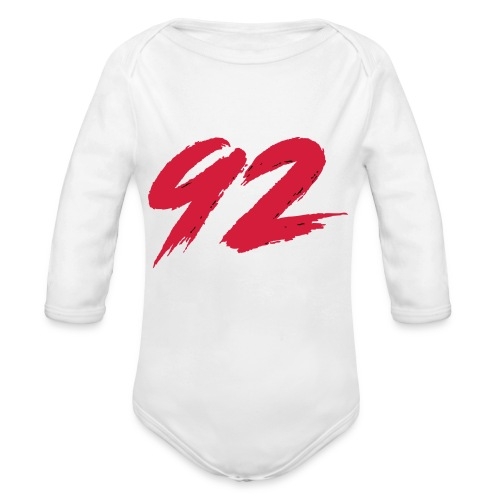 92 Logo 1 - Baby Bio-Langarm-Body