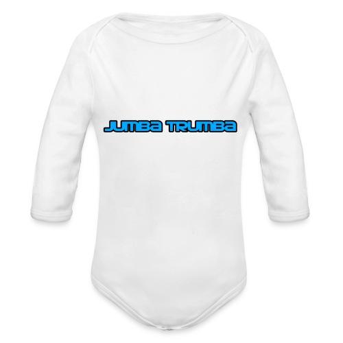 Jumba Trumba Spreadshirt - Organic Longsleeve Baby Bodysuit