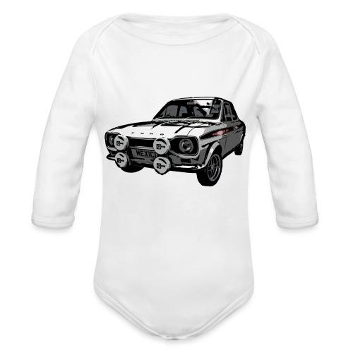 Mk1 Escort - Organic Longsleeve Baby Bodysuit