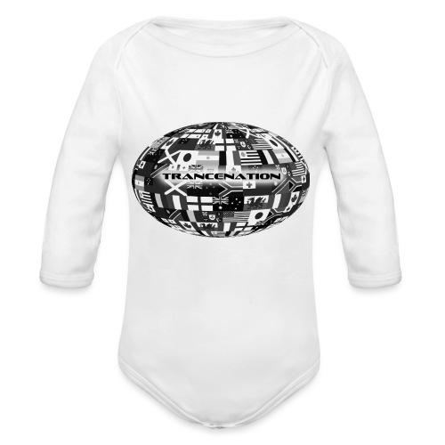 trancenation - Ekologisk långärmad babybody