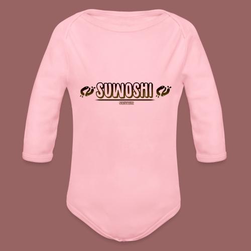 Suwoshi Streetwear - Baby bio-rompertje met lange mouwen