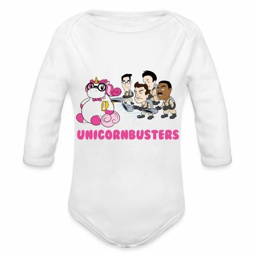 Unicornbuster - Baby Bio-Langarm-Body