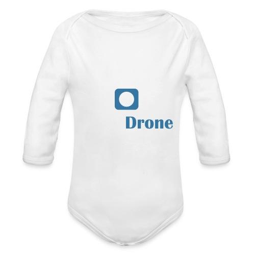 ListerDrone logo - Økologisk langermet baby-body