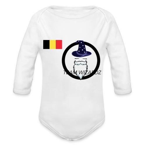 TW logo BE - Organic Longsleeve Baby Bodysuit
