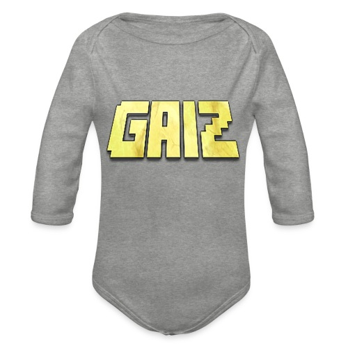 POw3r-gaiz bimbo - Body ecologico per neonato a manica lunga