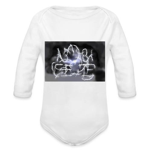 Fake Metal Band - Body ecologico per neonato a manica lunga
