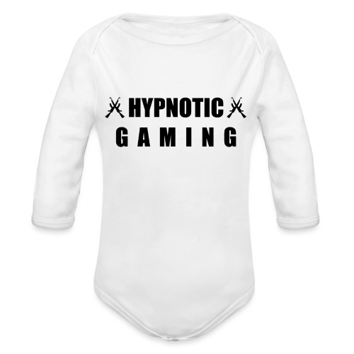 Hypn0ticTryck - Ekologisk långärmad babybody
