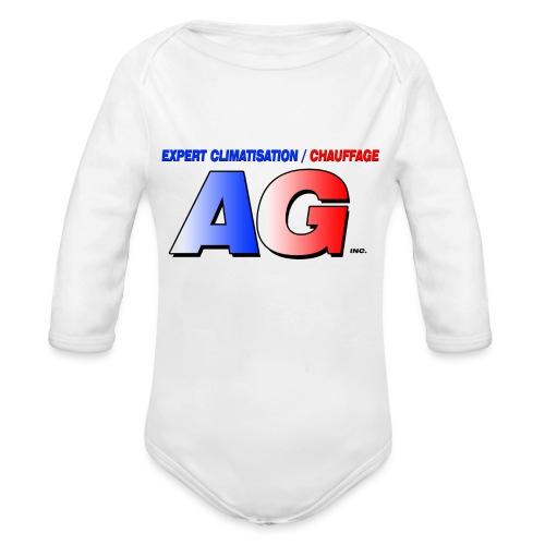 AG climatisation LOGO - Body Bébé bio manches longues