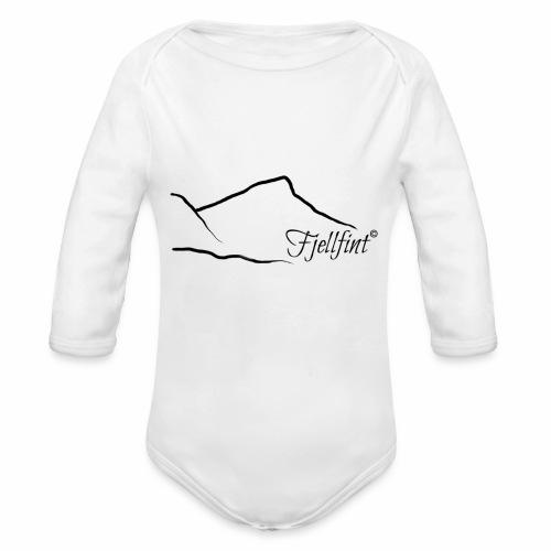 Fjellfint - Økologisk langermet baby-body