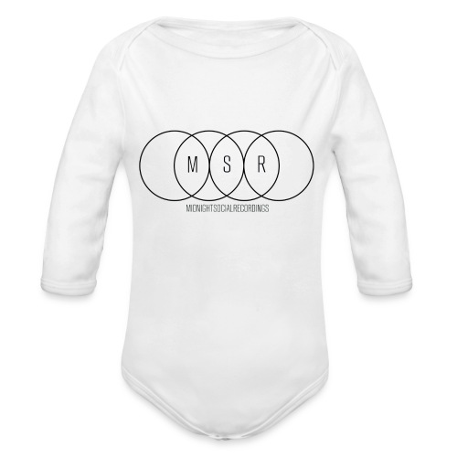 Midnight Social #15 - Organic Longsleeve Baby Bodysuit